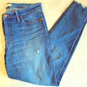 Madewell High-Rise Skinny Jeans   32